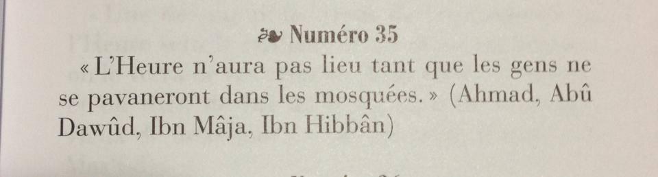 hadith fin des temps 16