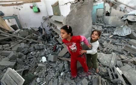 petites filles israel gaza