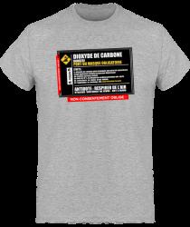 Tshirt Homme - Notice Dioxyde de Carbone