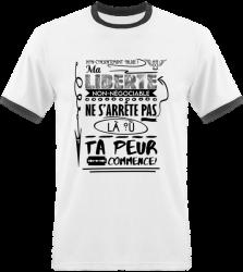shirt Homme - Ma Liberté Non-Négociable