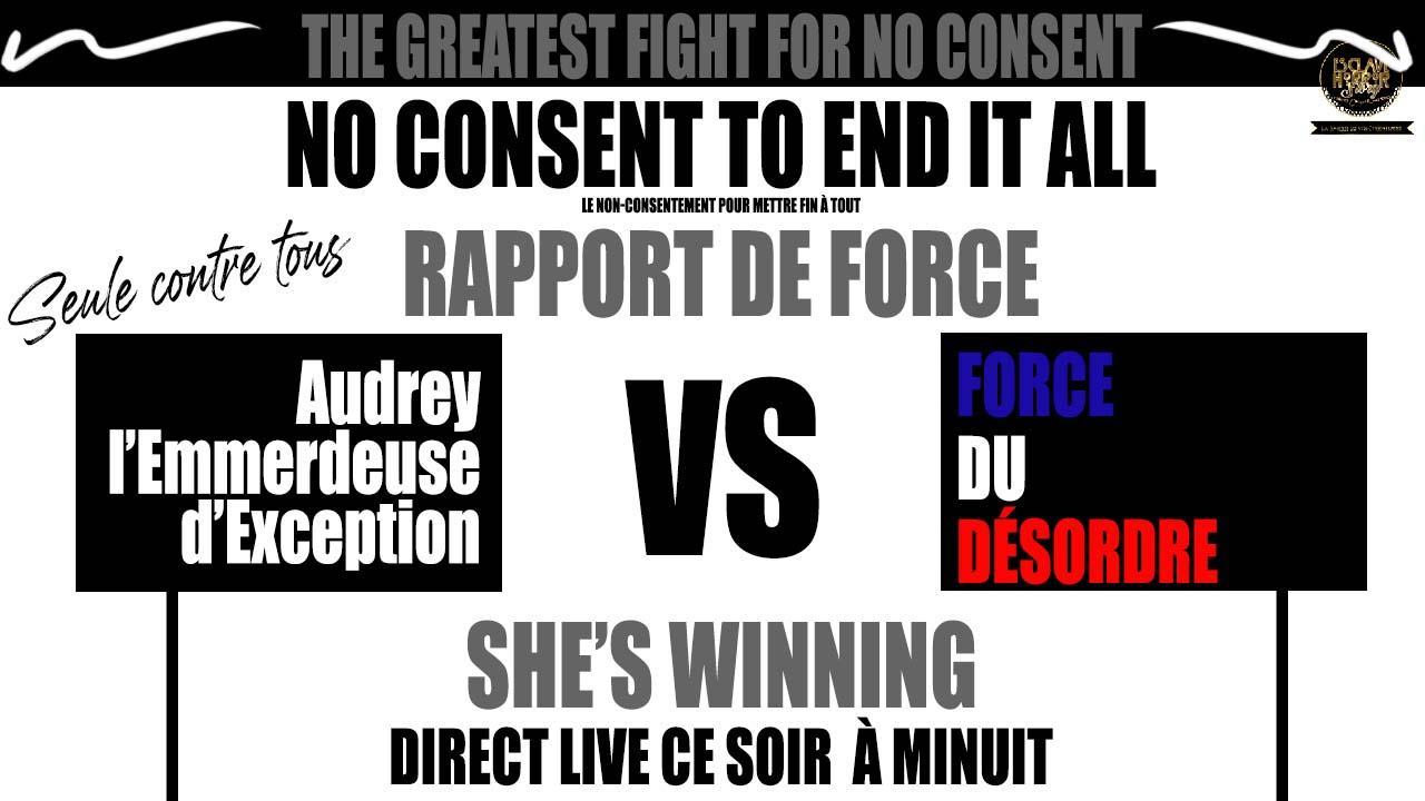 Audrey rapport de force