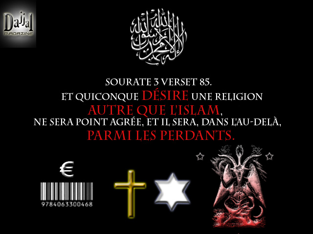 Autre religion que l'islam sourate 3verset 85
