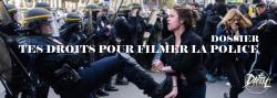 Droit pour filmer la police