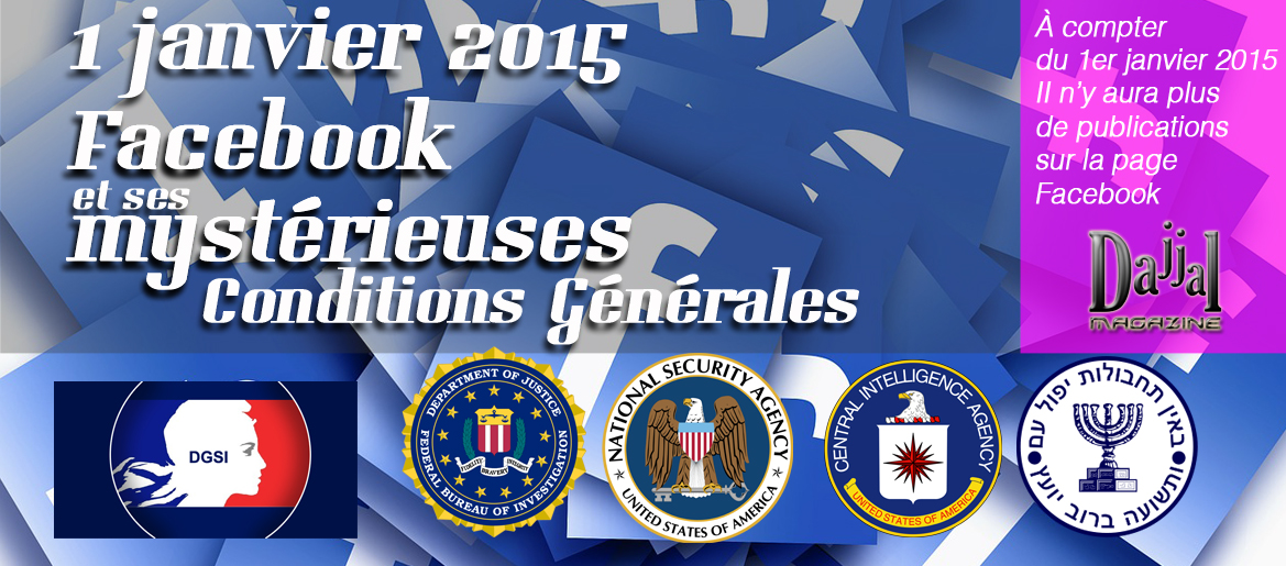 Facebook conditions generales dajjal magazine