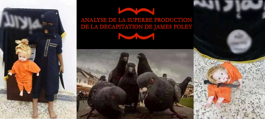 James foley analyse de la superbe production