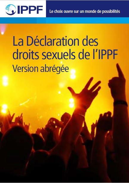 La declaration des droits sexuels de ippf planning familial us