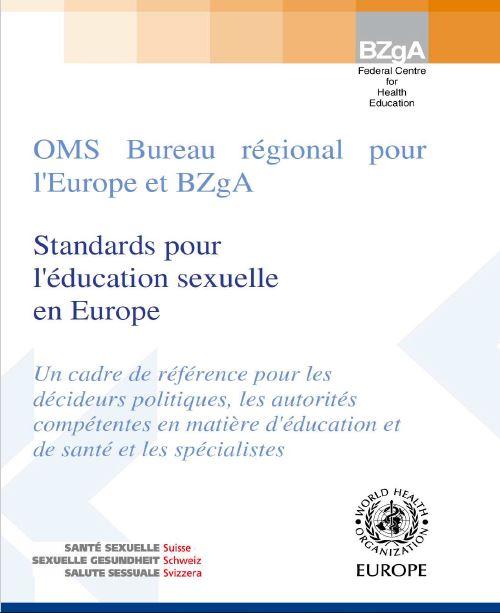Oms standards pour l education sexuelle en europe