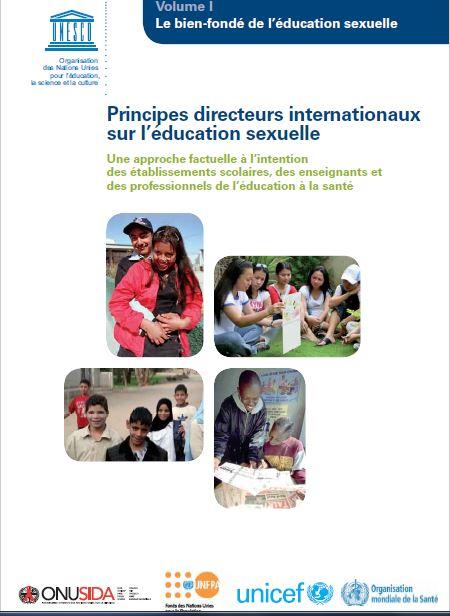 UNESCO - ONU Principes directeurs internationnaux sur l education sexuelle