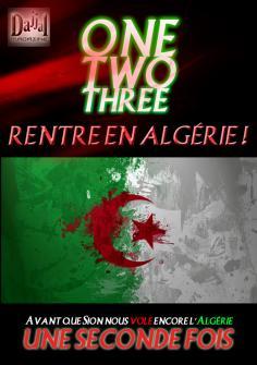 One Two Three ! Rentre en Algerie