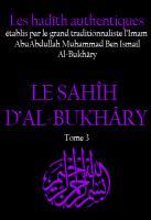 Sahih al bukhary tome 3