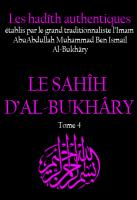 Sahih al bukhary tome 4