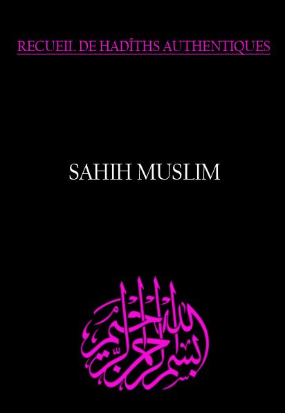 Sahih muslim receuil