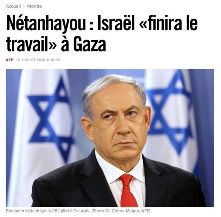 Israël : Benjamin Shetanyahu