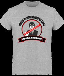 Tshirt Homme - Non-Consentement Oblige au masque suicidaire