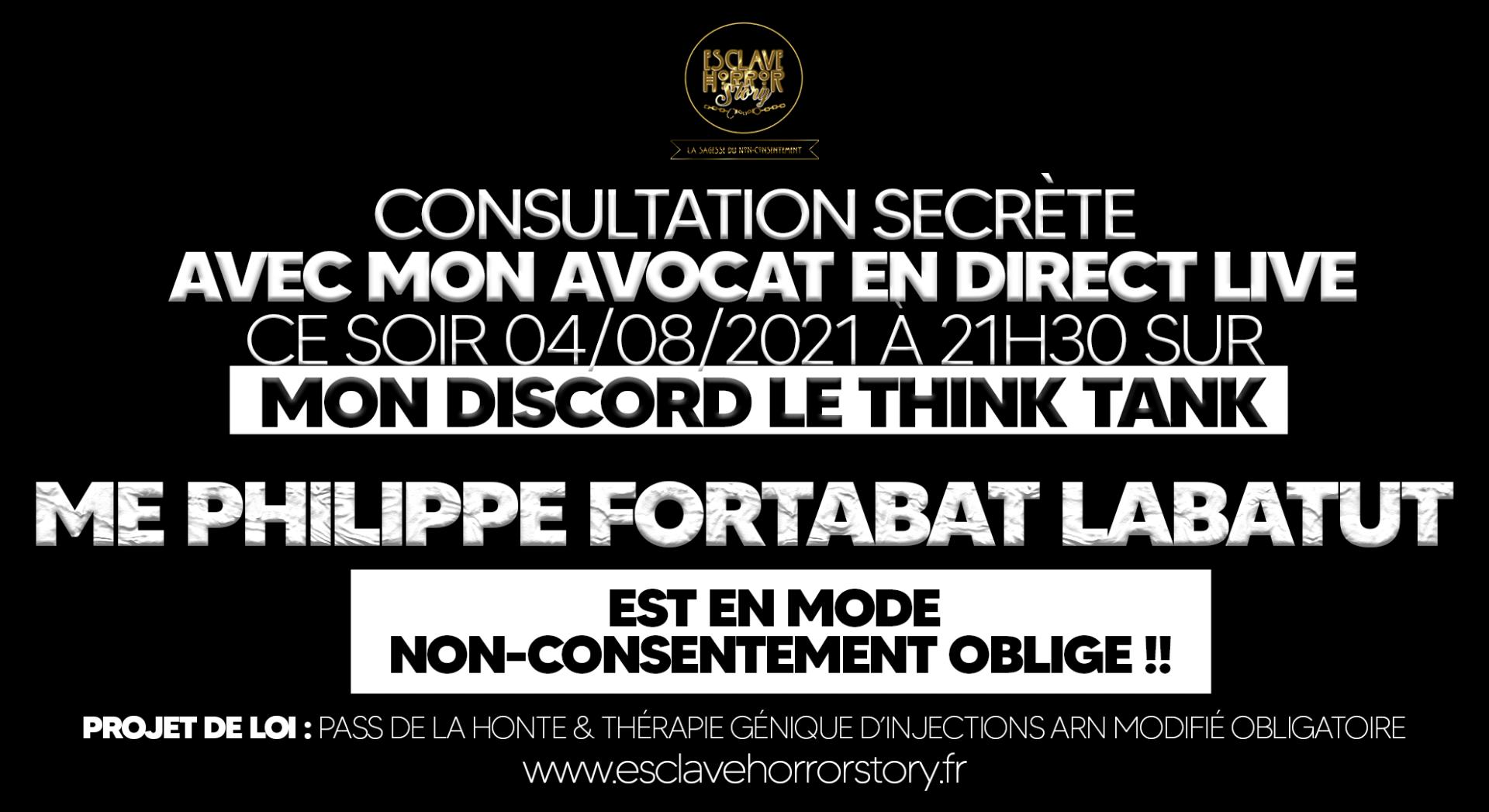 Affiche consultation secrete avocat ehs