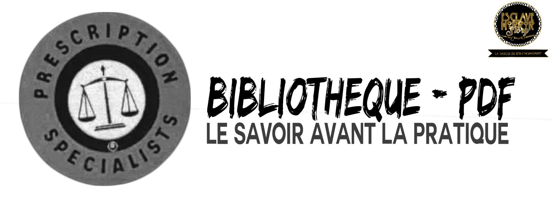 Bibliotheque pdf v2