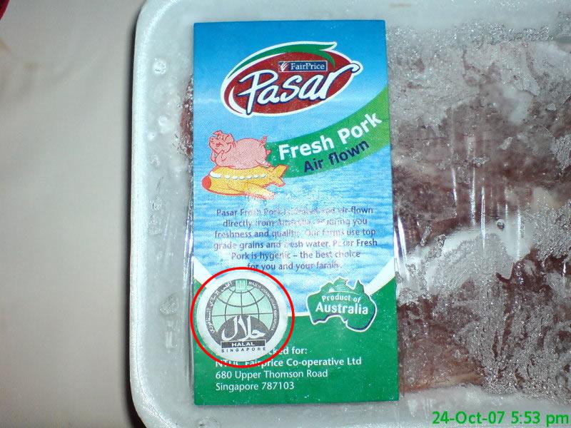 Cochon halal dajjal magazine