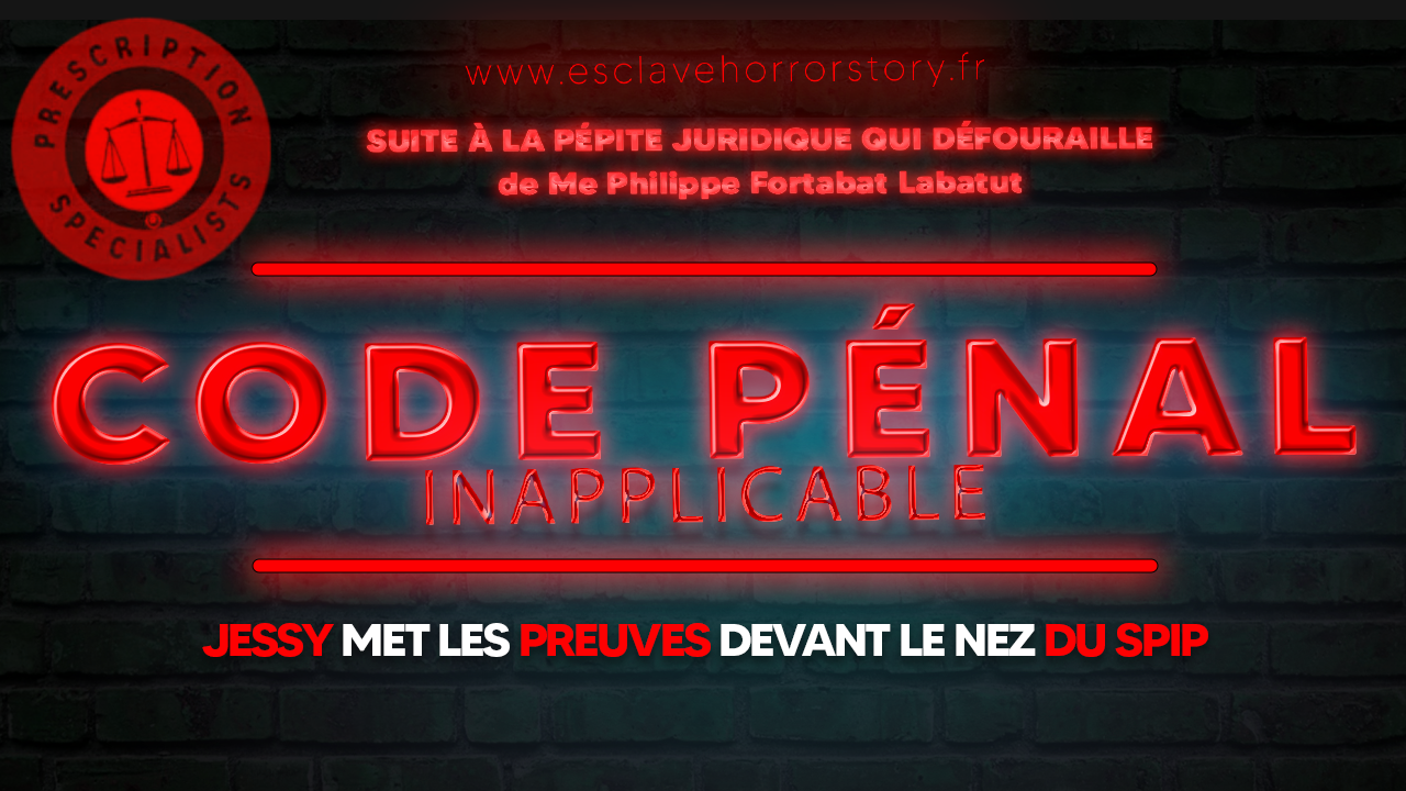 Code penal inapplicable jessy