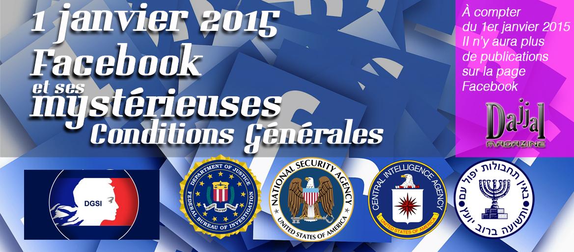 Facebook conditions generales dajjal magazine