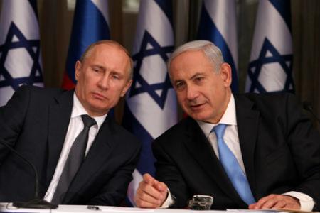 Poutine et netanyahu israel russie guerre en syrie